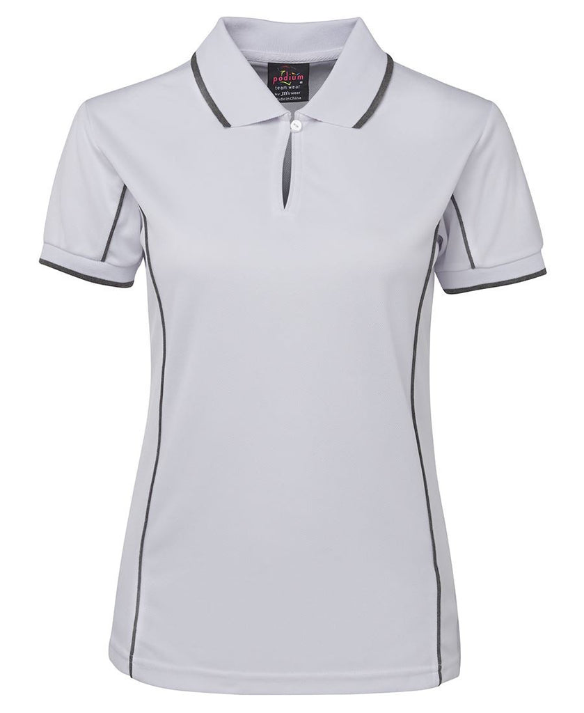 JB's Podium Ladies Piping Polo 2nd (10 Color ) (7LPI)
