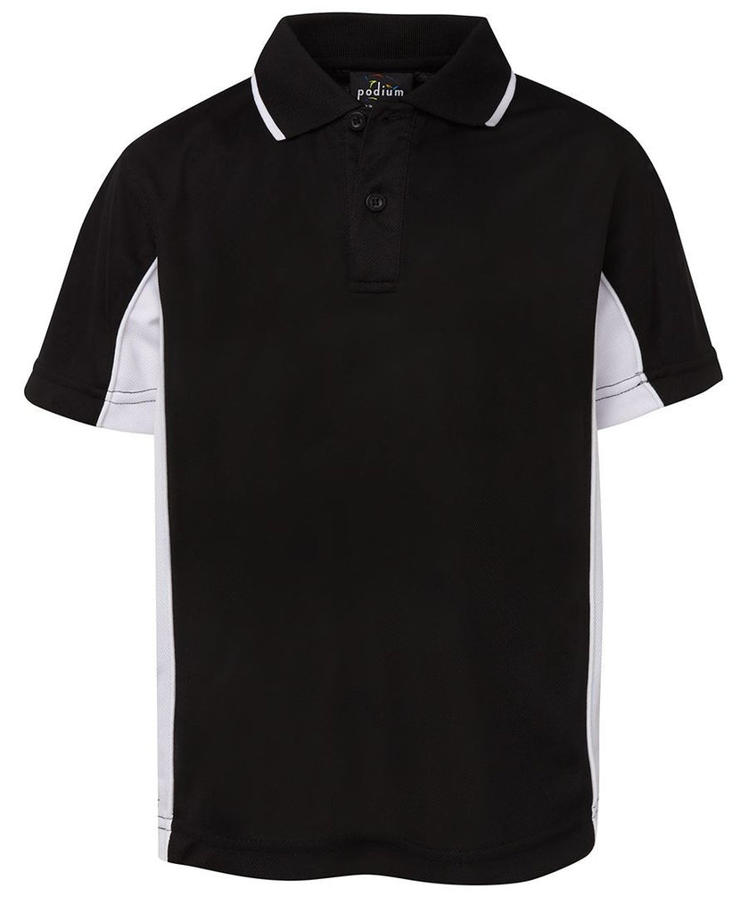 JB's Podium Kids Contrast Polo (7PP3)