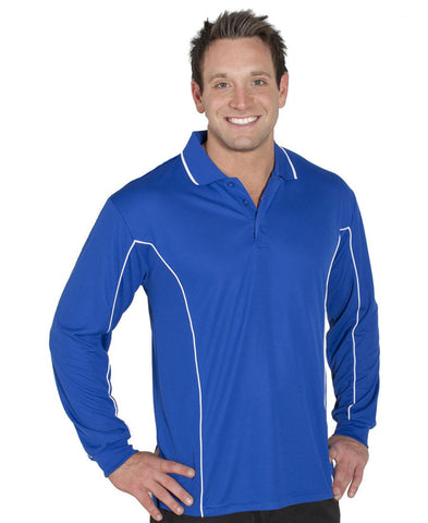 Jb's Podium Long Sleeve Piping Polo - Adults and Kids (7PIPL)