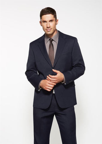 Biz Corporates-Biz Corporates Men's Single Breasted 2 Button Suit Jacket--Corporate Apparel Online - 1