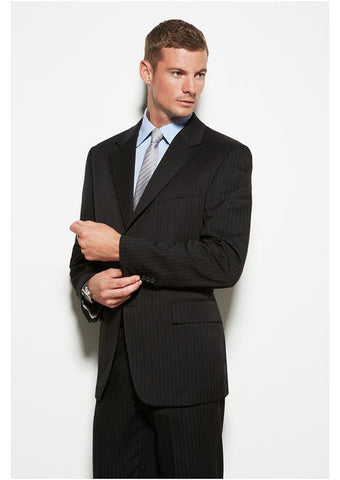 Biz Corporates-Biz Corporate Men's Single Breasted 2 Button Suit Jacket--Corporate Apparel Online - 1