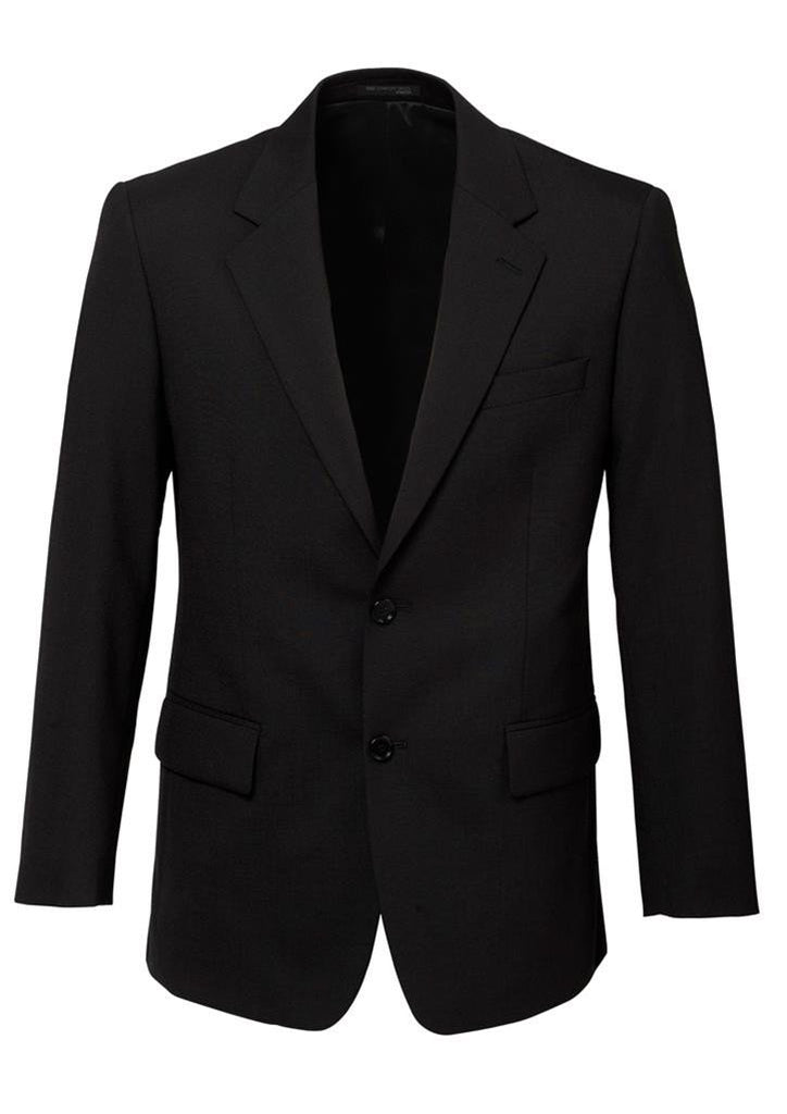 Biz Corporates-Biz Corporates Men's 2 Button Single Breasted Suit Jacket-Black / 92-Corporate Apparel Online - 2