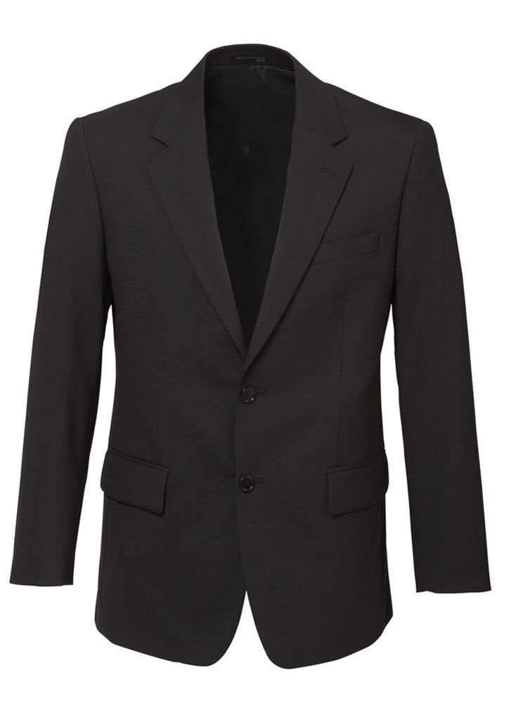 Biz Corporates-Biz Corporates Men's 2 Button Single Breasted Suit Jacket-Charcoal / 92-Corporate Apparel Online - 4