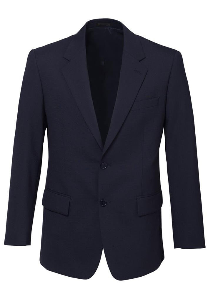 Biz Corporates-Biz Corporates Men's 2 Button Single Breasted Suit Jacket-Navy / 92-Corporate Apparel Online - 6