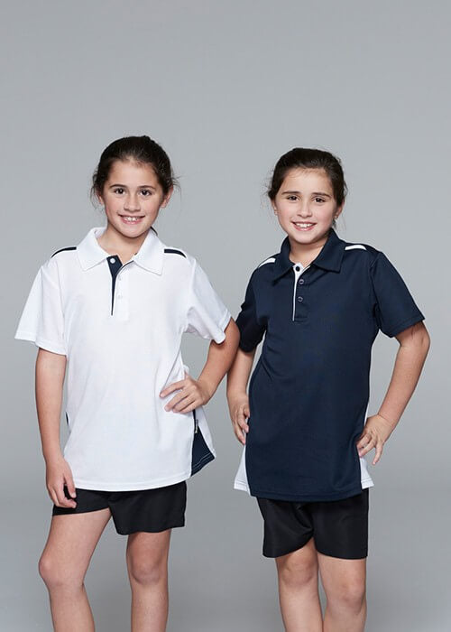 Aussie Pacific Paterson Kids Polo 2nd (10 Colour )-(3305)