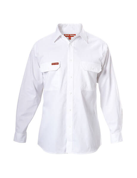 Hard Yakka  Cotton Drill Shirt Long Sleeve (Y07500)