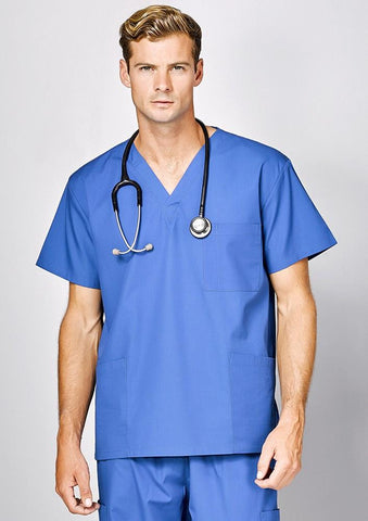 Biz Corporates-Biz Corporate Advatex Johnson Scrub Top-Unisex--Corporate Apparel Online - 1