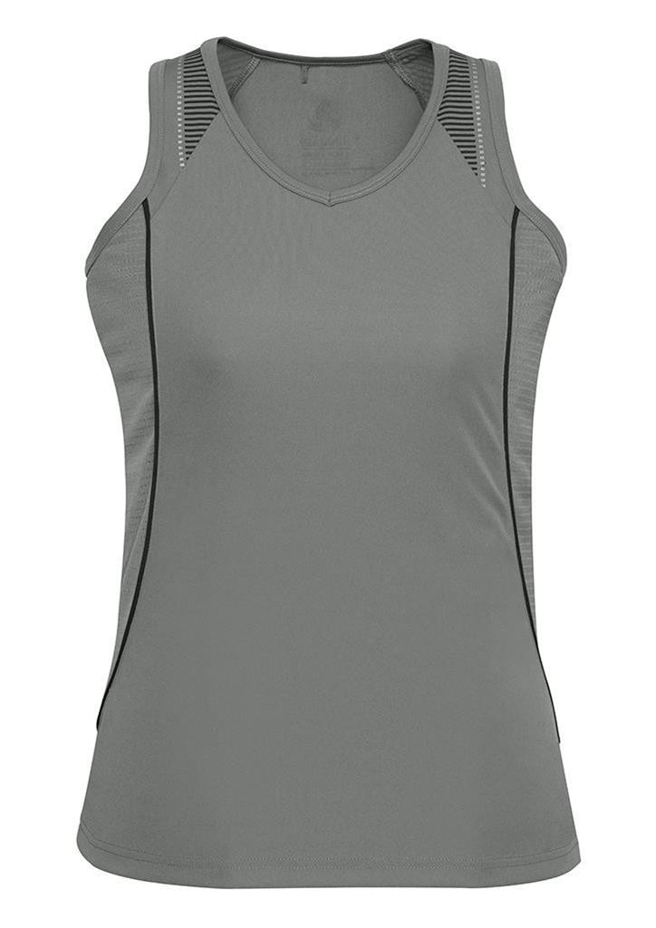 Biz Collection Ladies Razor Singlet (SG407L)