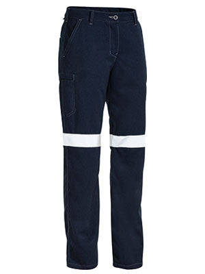 Bisley Tencate Tecasafe Plus Women's Taped Engineered FR Cargo Pant-(BPL8092T)