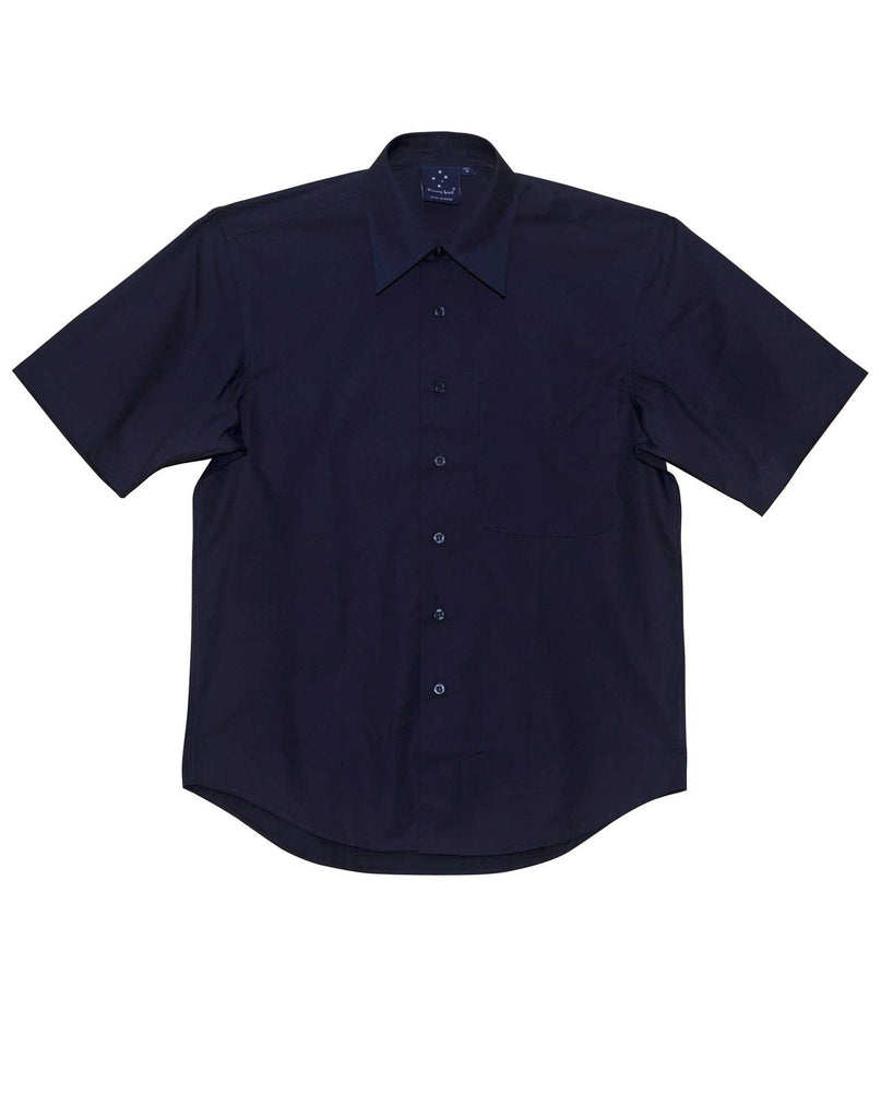 Winning Spirit Men's Teflon Executive Short Sleeve Shirt (BS08S)