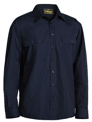 Bisley Permanent Press Shirt - Long Sleeve-(BS6526)