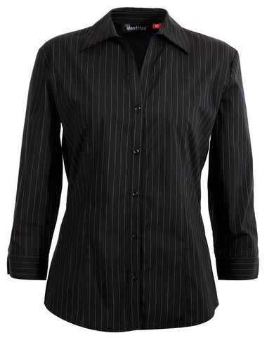 Identitee-Avenue Ladies Shirts-Black