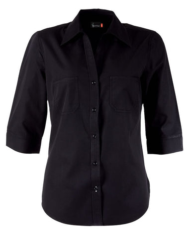 Identitee-Harley Ladies Shirts-Black