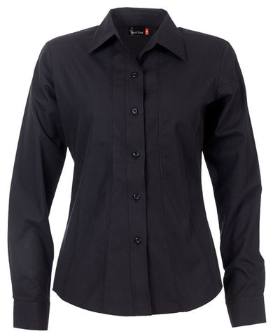 Identitee-Aston Ladies Shirts-Black