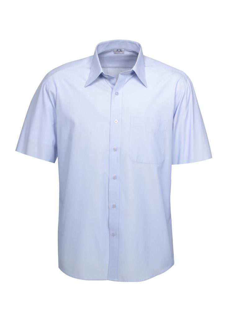 Biz Collection Mens Ambassador Short Sleeve Shirt (S251MS)