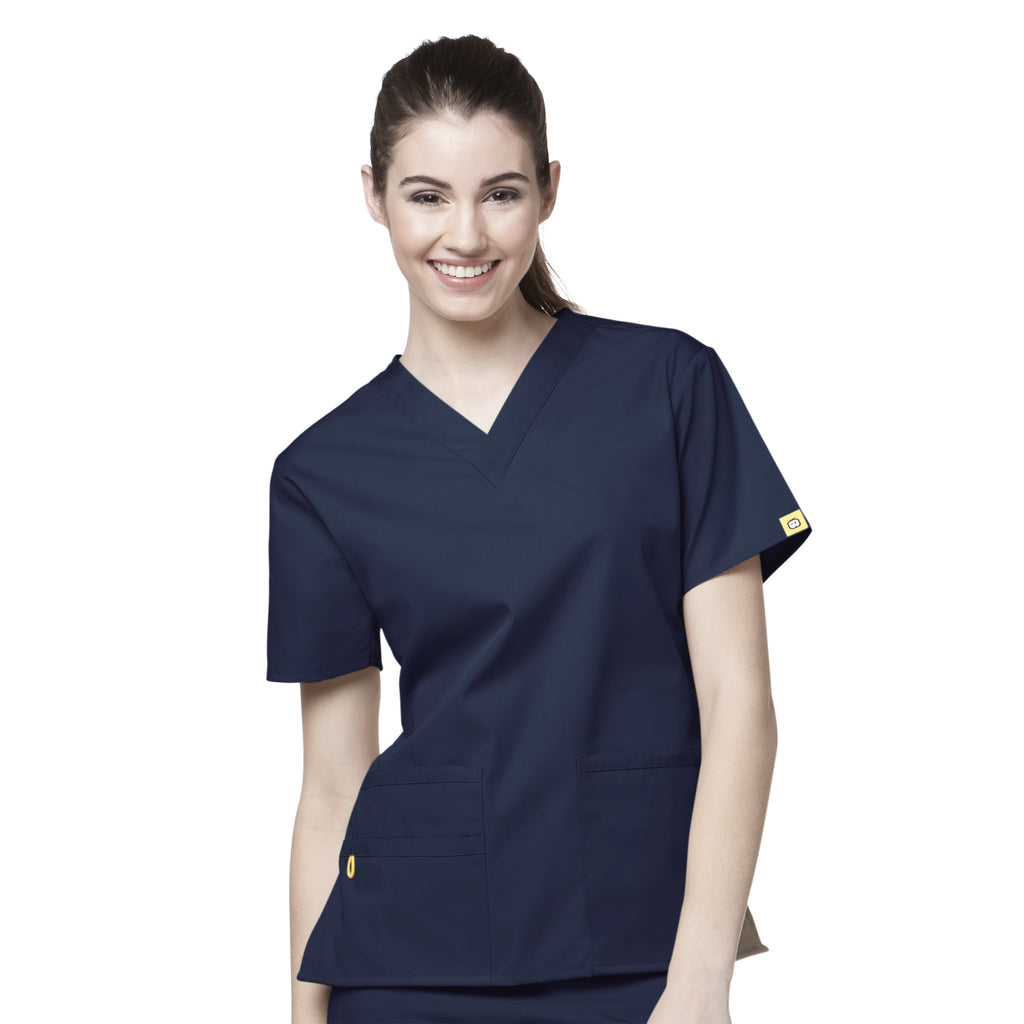 Wonderwink Womens Bravo Scrub Top (CATU66)