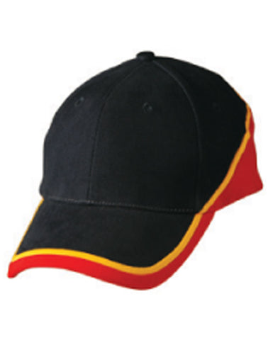 Winning Spirit Tri Contrast Colours Cap (CH38)