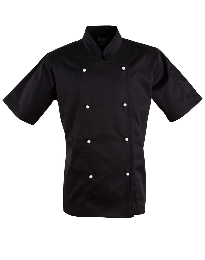 Winning Spirit Chef's Short Sleeve Jacket (CJ02)