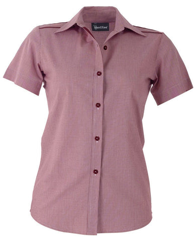 Identitee-Havana Ladies Shirts-Cherry Red