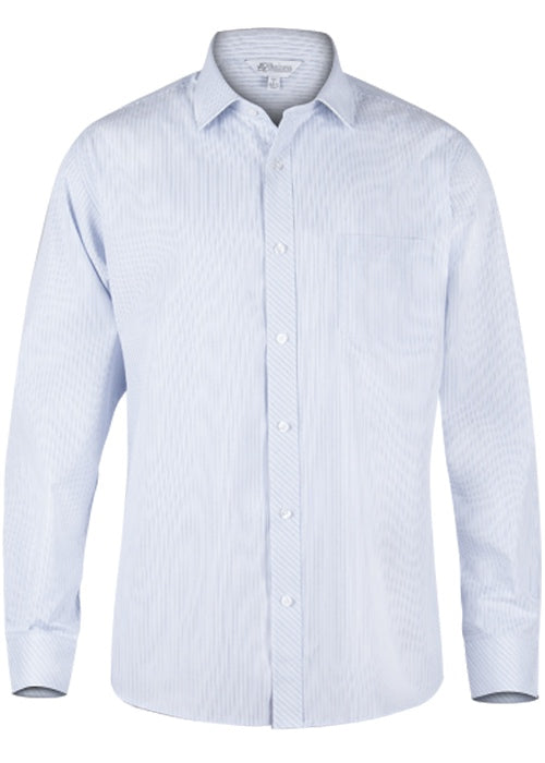 Aussie Pacific Mens Bayview Long Sleeve Shirt-(1906L)
