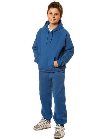 Winning Spirit Kids' Close Front Fleece Hoodie (FL07K)
