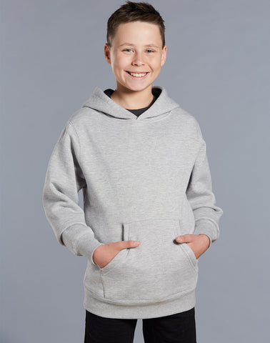 Winning Spirit Passion Close Front Fleecy Hoodie (FL09K)