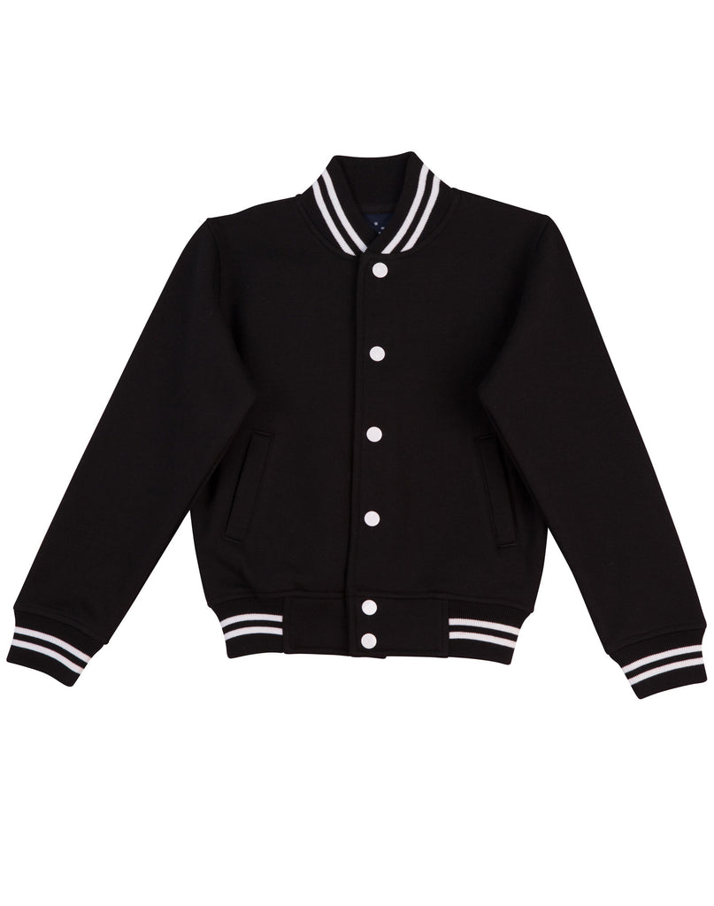 Winning Spirit Kid's Fleece Varsity Jacket (FL11K)