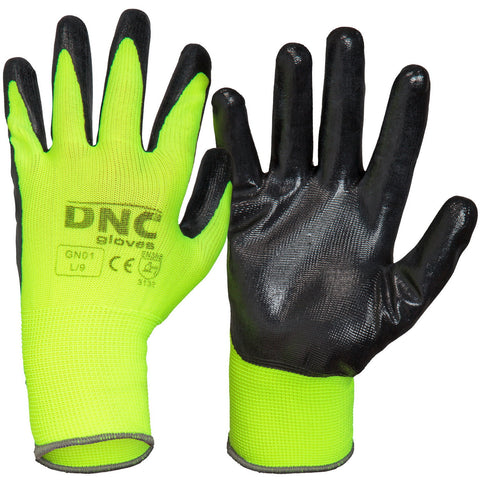 DNC Nitrile Basic/Smooth Finish (GN01)