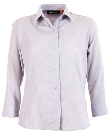 Identitee-Trafalgar Ladies Shirts-Grey