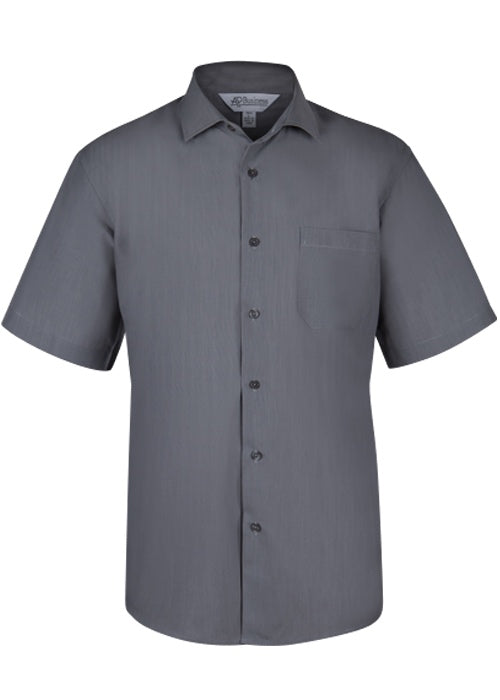 Aussie Pacific Mens Belair Short Sleeve Shirt-(1905S)