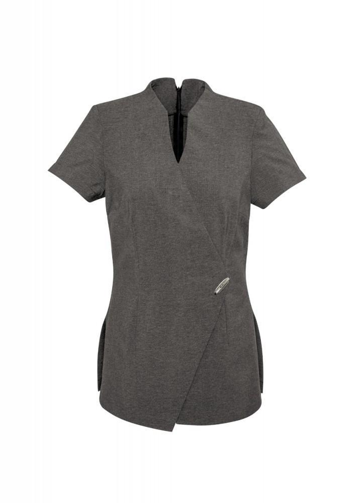 Biz Collection Spa Mock Wrap Tunic (H630L)