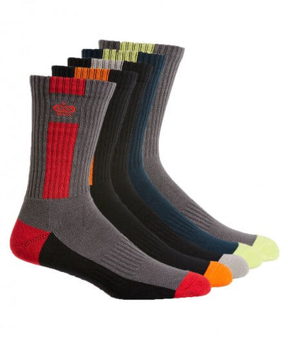 King Gee Men's Crew Cotton Work Sock - 5 Pack(K09035)
