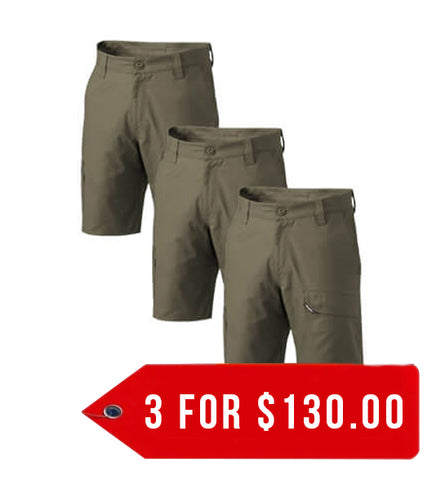 KingGee Workcool 2 Shorts (K17820-1)-3 Packs