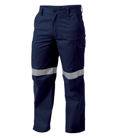 King Gee Workcool Reflective Drill Pant- Cotton Drill 290 GSM (K53800)
