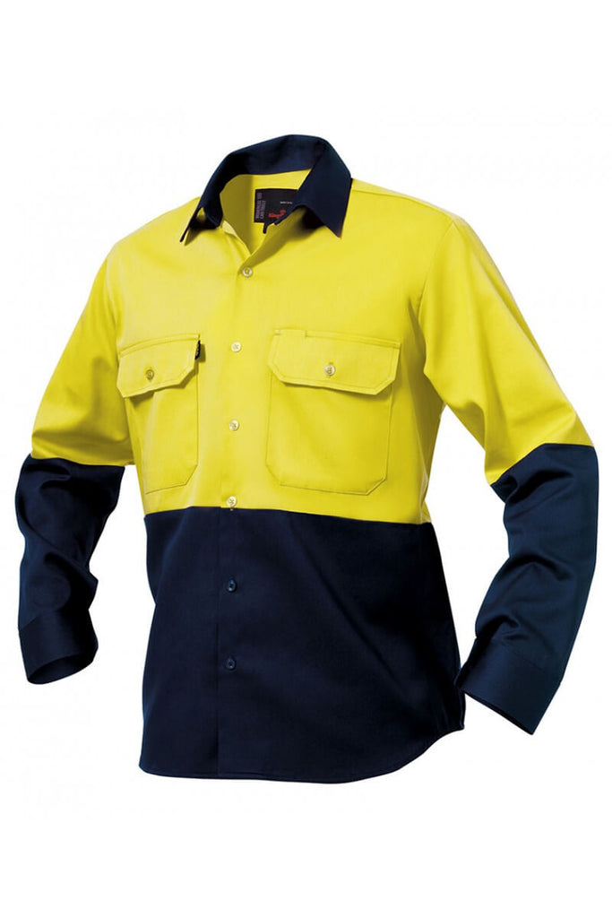 King Gee Spliced Drill Shirt ( K54015 )