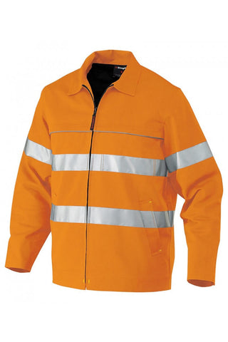 King Gee Reflective Nano-Tex Drill Jacket (K55805)
