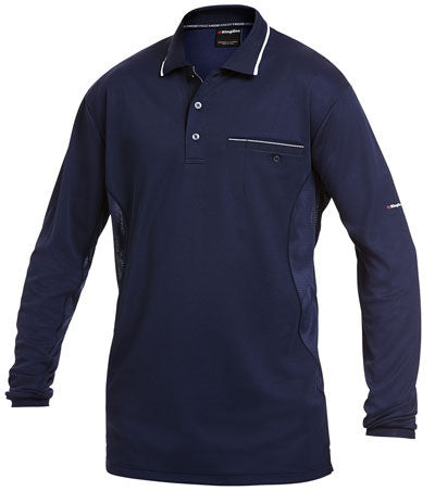 King Gee Workcool  L/S Polo (K69790)