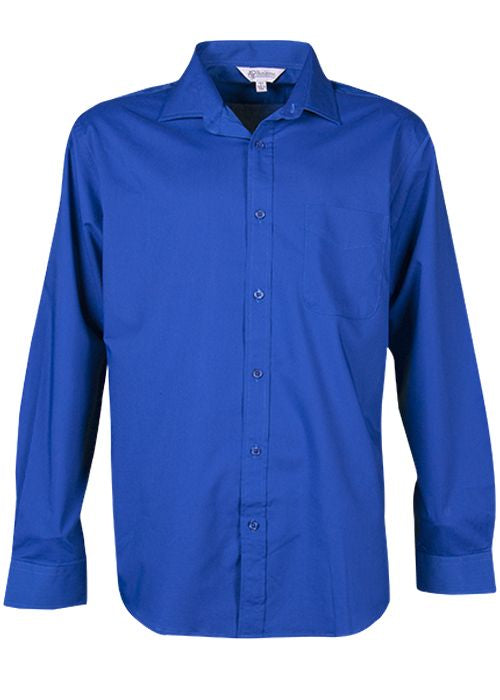 Aussie Pacific Mens Mosman Long Sleeve Shirt-(1903L)