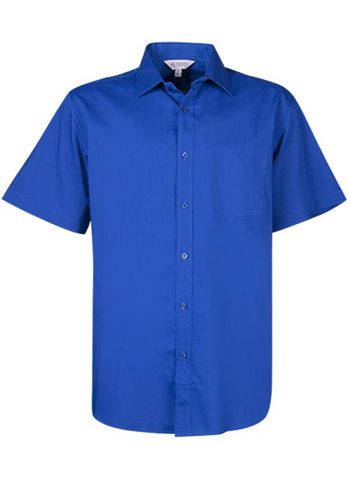 Aussie Pacific Mens Mosman Short Sleeve Shirt-(1903S)
