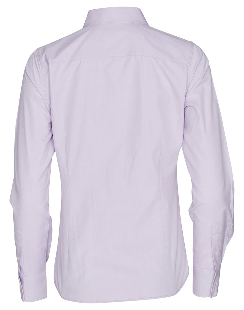 Winning Spirit Women's CVC Oxford Long Sleeve Shirt (M8040L)