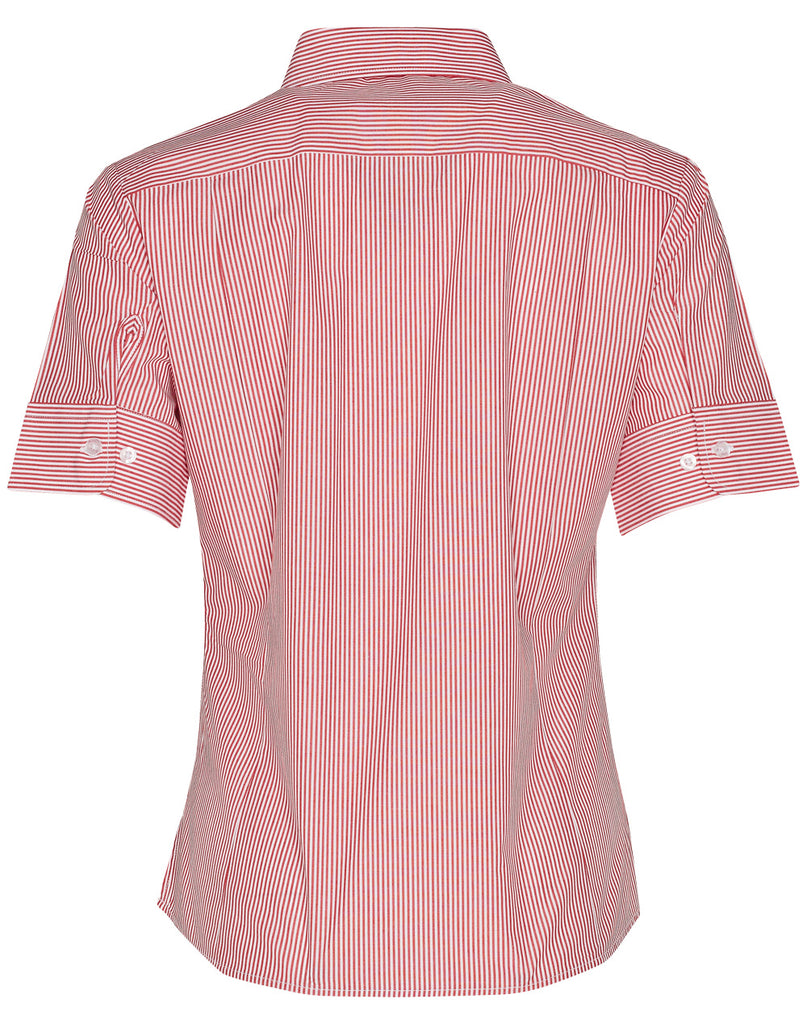 Winning Spirit Women's Balance Stripe Short Sleeve Shirt (M8234)