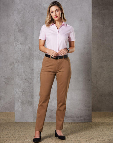 Winning Spirit  Ladies Boston Chino (M9390)
