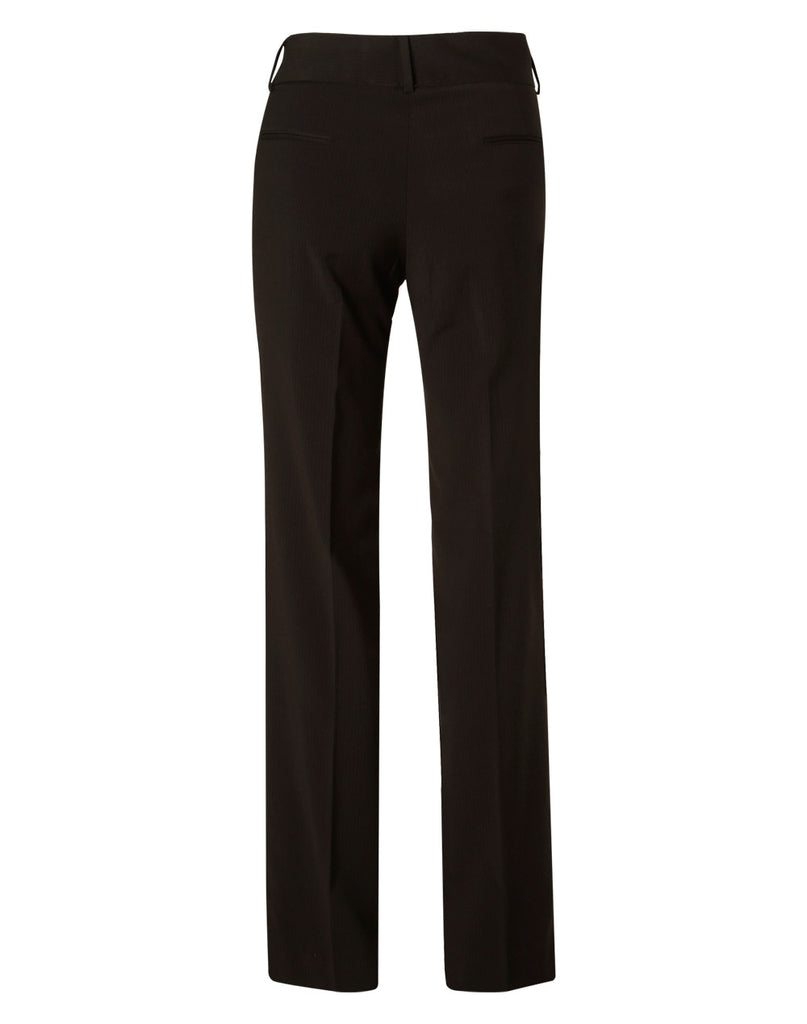 Winning Spirit Women's Poly/Viscose Stretch Stripe Low Rise Pants (M9430)