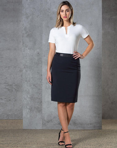 Wining Spirit Ladies Twill Stertch Utility Skirt (M9479)