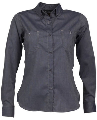 Identitee-Connornew Ladies Shirts-Navy