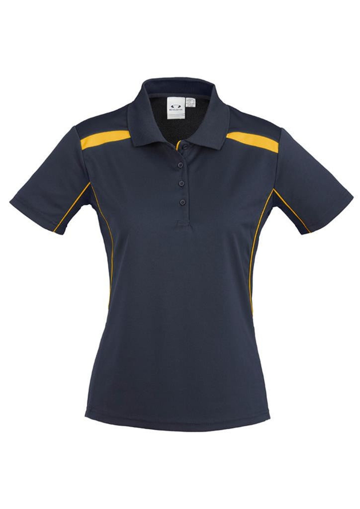 Biz Collection Ladies United Short Sleeve Polo 1st ( 10 Colour ) (P244LS)