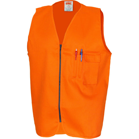 DNC Patron Saint Flame Retardant Drill ARC Rated Safety Vest (3403)