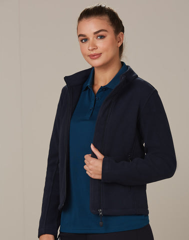 Winning Spirit Ladies' Bonded Polar Fleece Full Zip Fitted Jacket (PF08)
