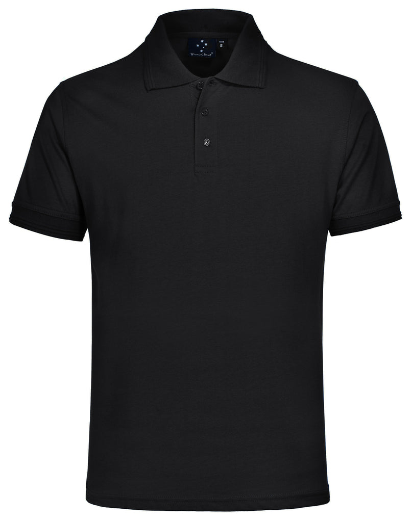 Winning Spirit Contrast Jersey Knit Short Sleeve Polo (PS05)