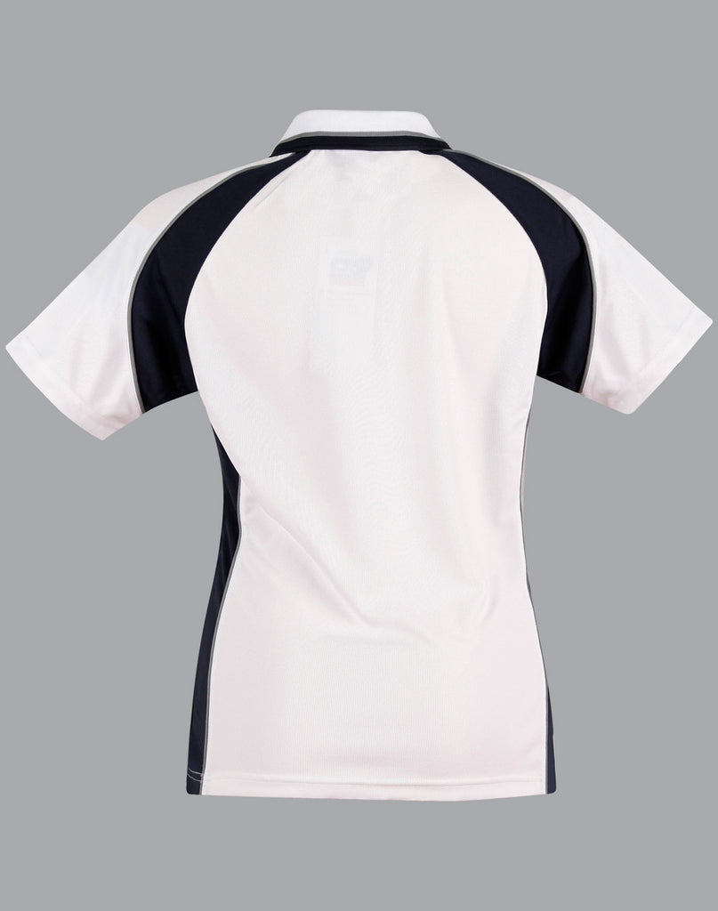 Winning Spirit Ladies' CoolDry® Short Sleeve Contrast Polo (PS50)